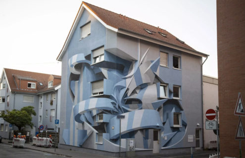 This shapeshifting Mannheim house could be the work of MC Escher