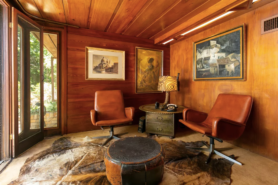 A Frank Lloyd Wright Usonian home is headed to auction – with no reserve