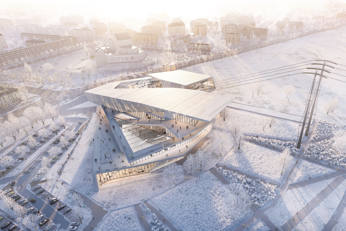 Dutch architectural firm UNStudio has won the competition to design the line, which is set to connect the two cities of Blagoveshchensk and Heihe