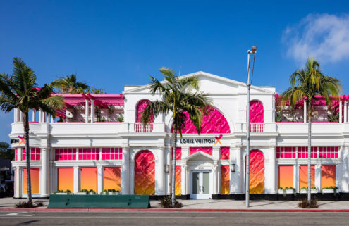 Louis Vuitton X's pop-up museum has landed in Beverly Hills