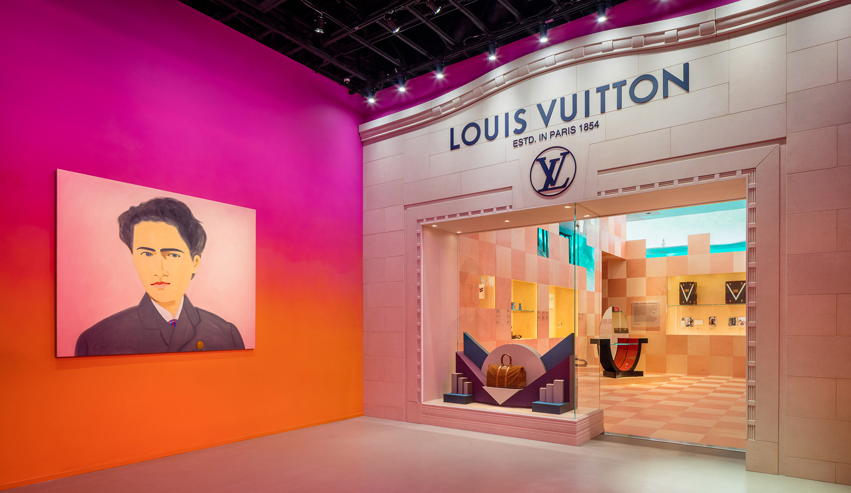 Louis Vuitton's pop-up museum has landed in Beverly Hills