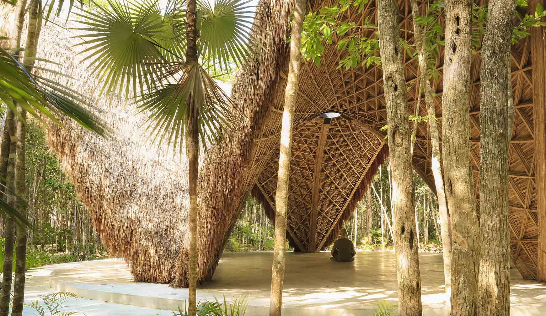 These yoga studios set a new standard for calming design: Luum Temple in Tulum, Mexico
