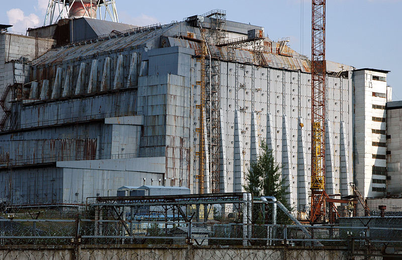 Pictured: the 4th block of the Chernobyl Nuclear Power Plant. Photography: Petr Pavlicek/IAEA