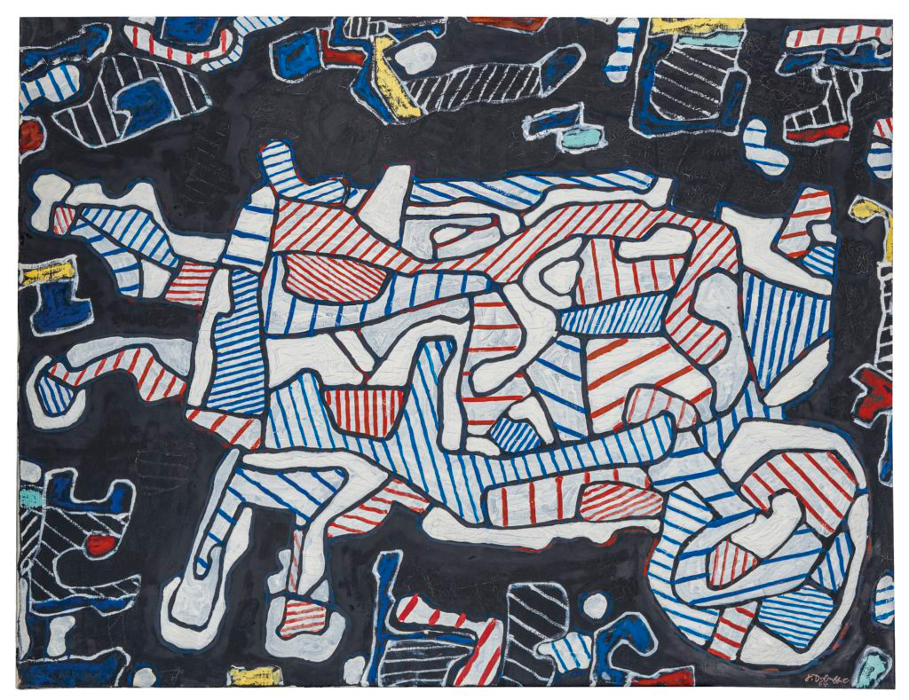 Jean Dubuffet, <em>La Brouette (The Wheelbarrow)</em>, 1964. Courtesy of Christie's