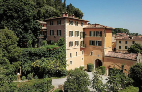 Valentino's Tuscan villa has hit the market for €12m