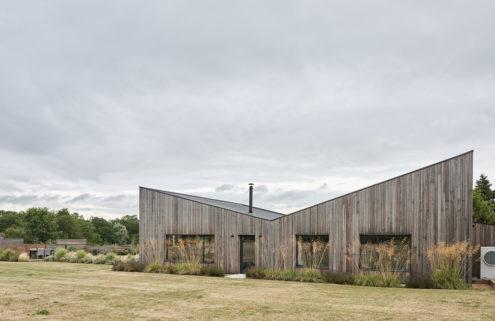 Peek inside Butterfly Barn II in the Essex countryside