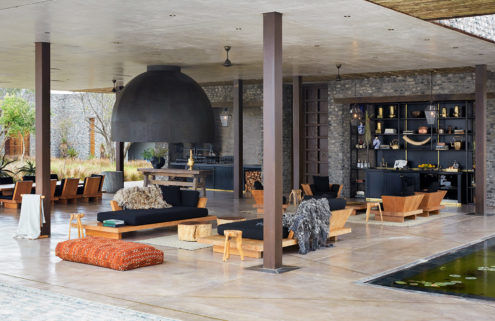 This new breed of safari lodges is looking further afield for aesthetic inspiration