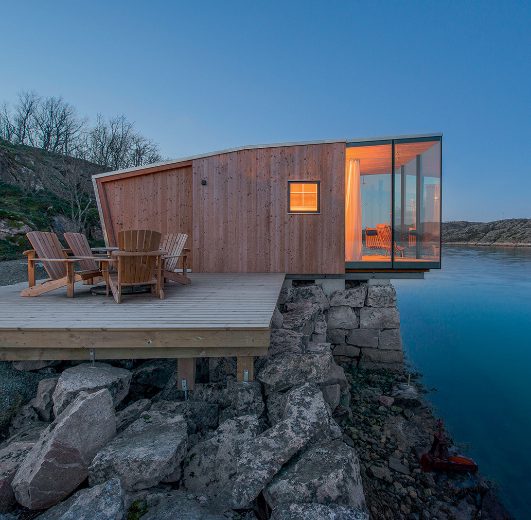 Manshausen by Stinessen Arkitektur in Steigen, Norway. Photography: Siggen Stinessen