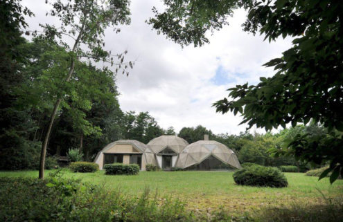 Jean Daladier's experimental 'triple dome home' is for sale near Paris