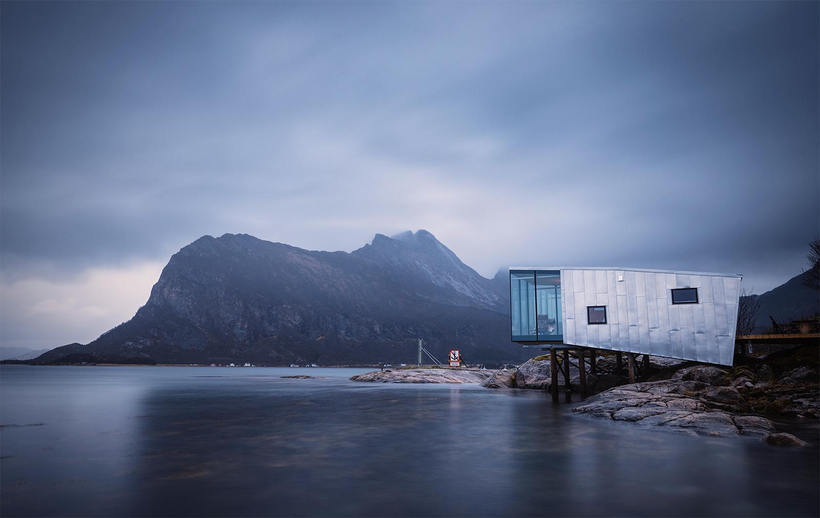 Manshausen 2.0 eco-resort in Norway