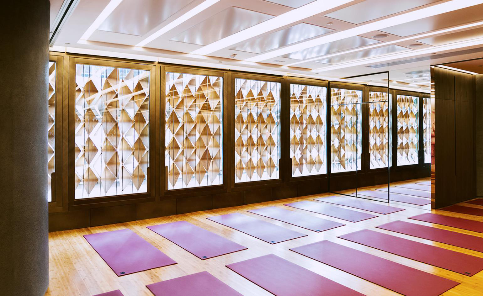 These yoga studios set a new standard for calming design: Humming puppy in Hong Kong