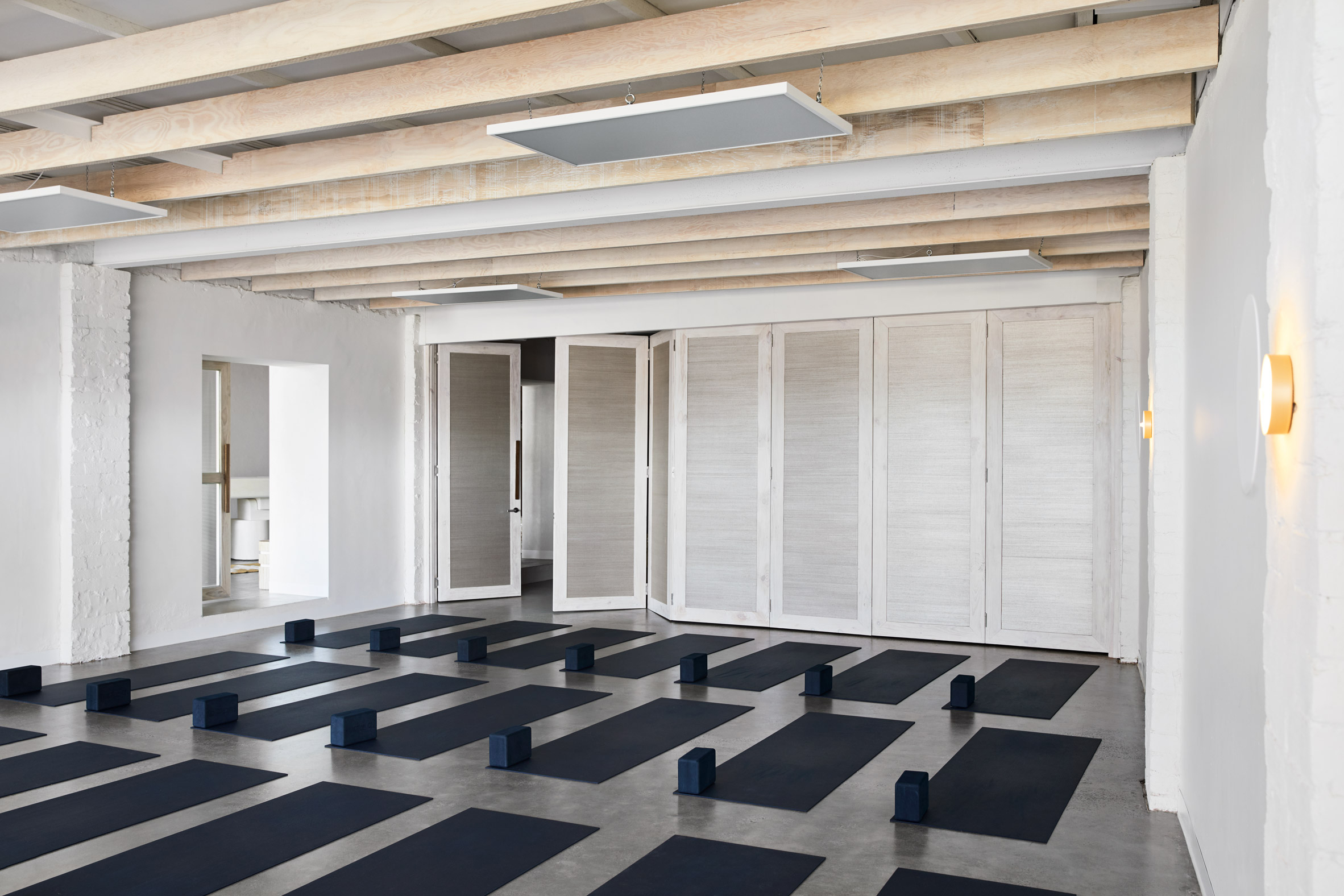 These yoga studios set a new standard for calming design: Warrior One in Melbourne