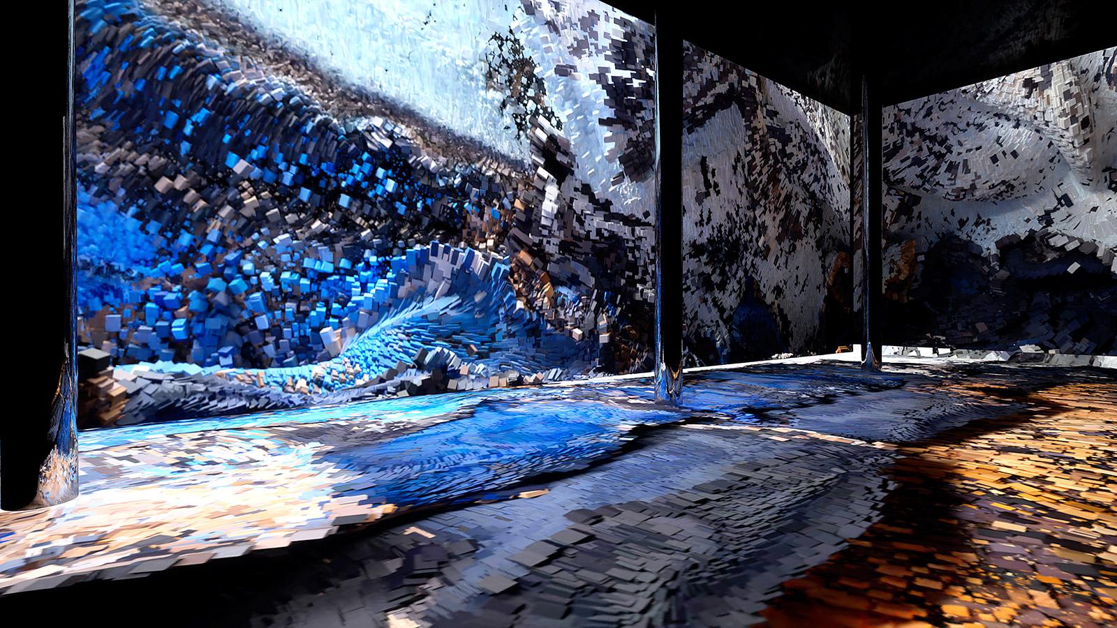 Artechouse is New York's first permanent digital art gallery