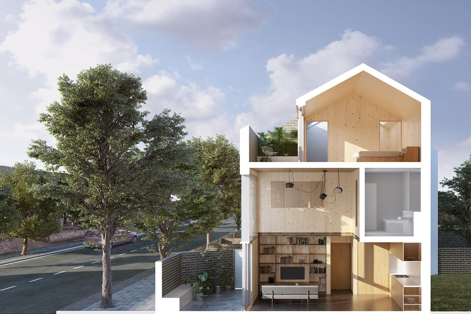 Carl Turner designed Cube Haus