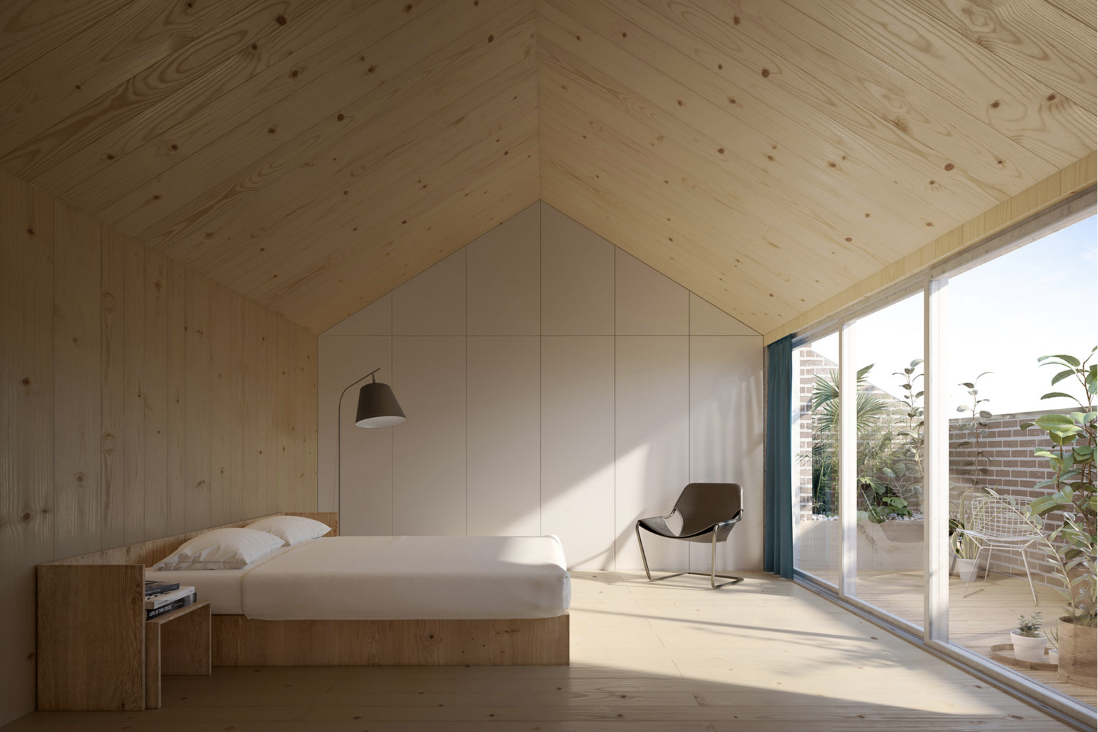 CGI by Carl Turner Architects. Via The Modern House