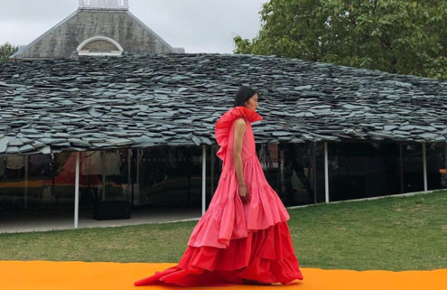 Roksanda Ilinčić commandeered the Serpentine Pavilion for her SS20 show