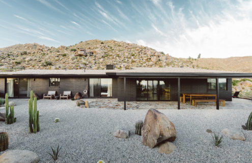 Villa Kuro is a minimalist hideaway in California's Joshua Tree National Park