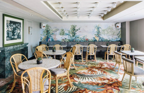 Julien Royer's new restaurant is inspired by a fictional French woman
