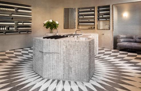 Studio Luca Guadagnino designs Aesop's Piccadilly store