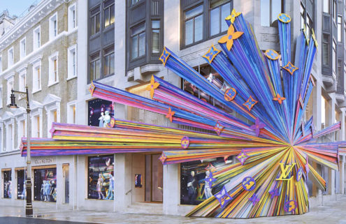 Peter Marino revamps Louis Vuitton's London flagship store with a visual 'explosion'