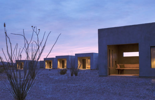 Brutalism blossoms in the desert at Texas's Willow House