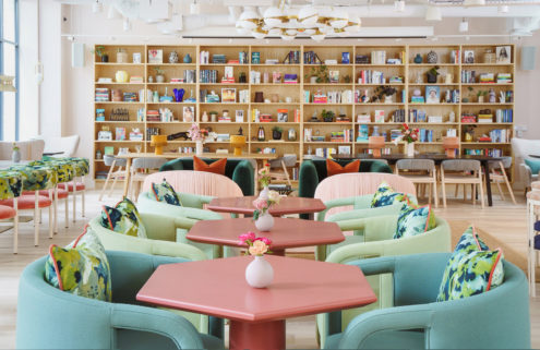 The Wing opens its first pastel-hued London coworking space