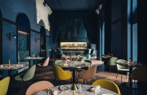 Warsaw restaurant Epoka is a jewellery box of colours