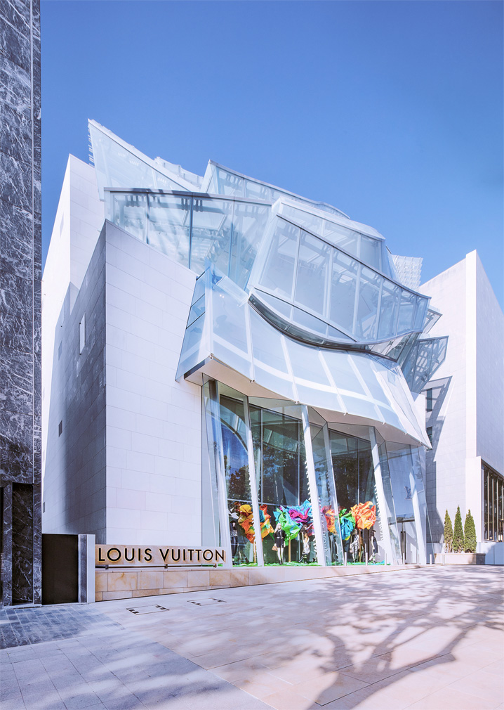 Frank Gehry creates a miniature Fondation Louis Vuitton in Seoul