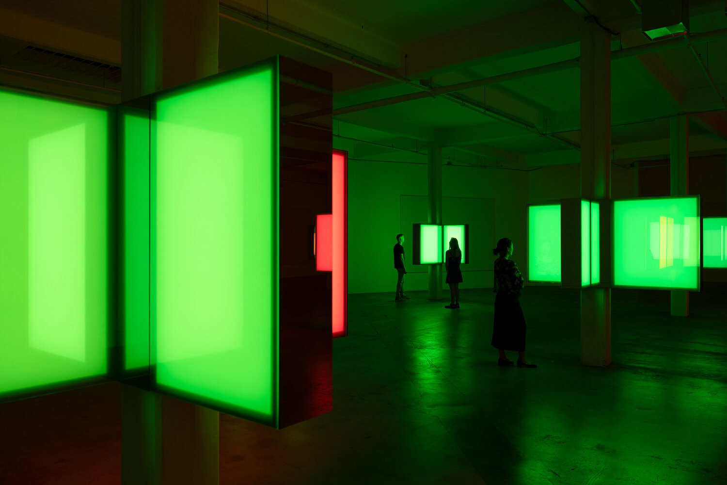 Phillip K Smith III's 10 Columns installation