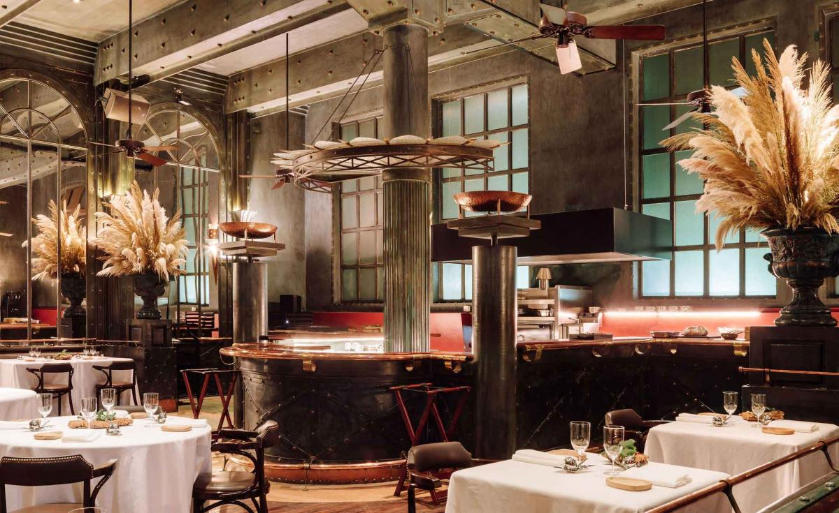 A 600-year old warehouse reopens as Eneko restaurant in Lisbon