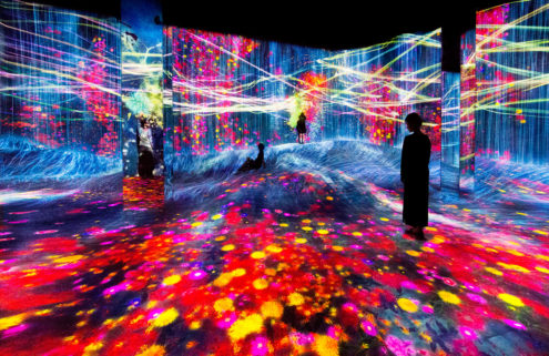 TeamLab is opening its surreal Shanghai museum next week
