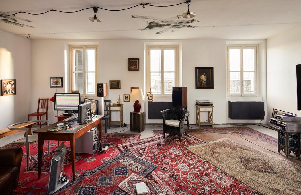 Step into Jean-Luc Godard's office – recreated at Fondazione Prada