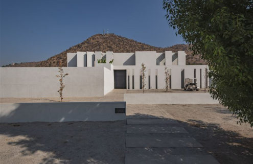 Concrete Chilean home shows the softer side of Brutalism