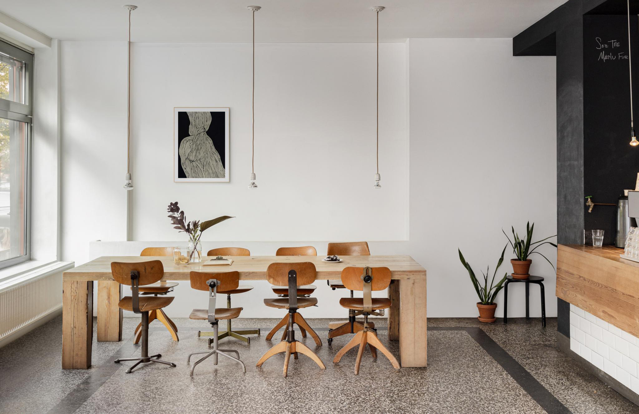 A minimalist Berlin coworking space is for sale - The Spaces