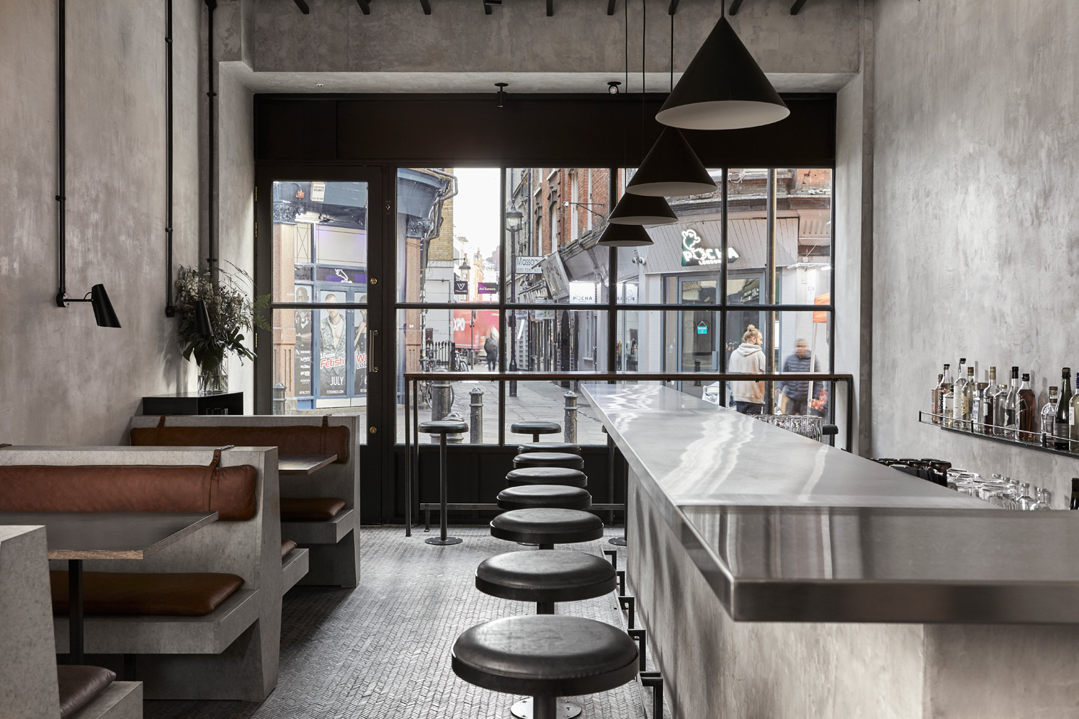 Sri Lankan restaurant Paradise has set up shop in Soho with a tropical brutalist oasis on Rupert Street.