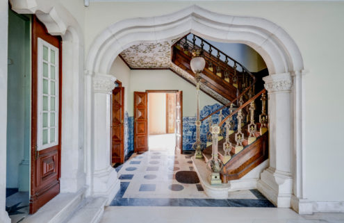 Fairytale Portuguese country mansion seeks an owner with grand ambitions