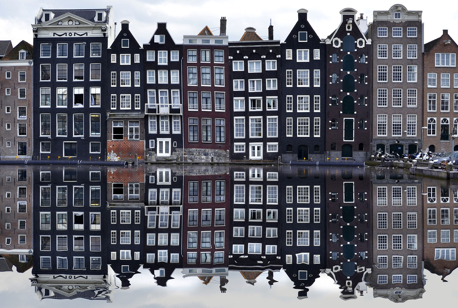 Amsterdam's slender canal houses