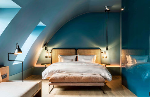 Conran and Partners give Prague's Maximilian Hotel a revamp