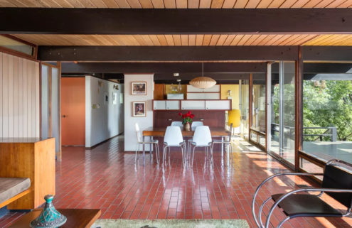 Architect's 'mint-condition' modernist home is renting for $7k in Eagle Rock, California