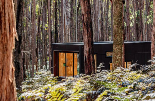 Sadie is an off-grid tiny home in the Victoria bush