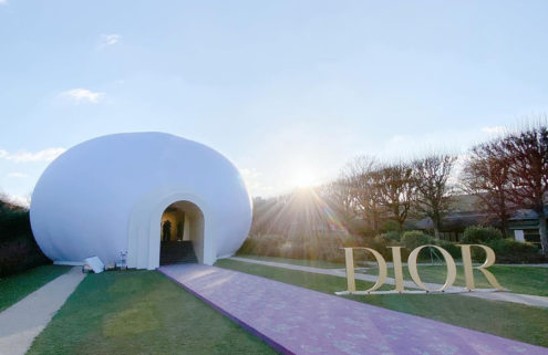 Judy Chicago conjures a giant goddess for Dior's SS20 Haute Couture show in Paris