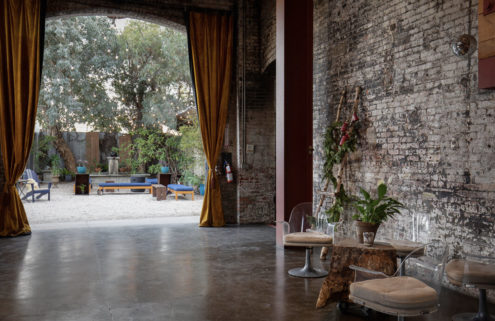 A converted substation is for sale in Los Angeles