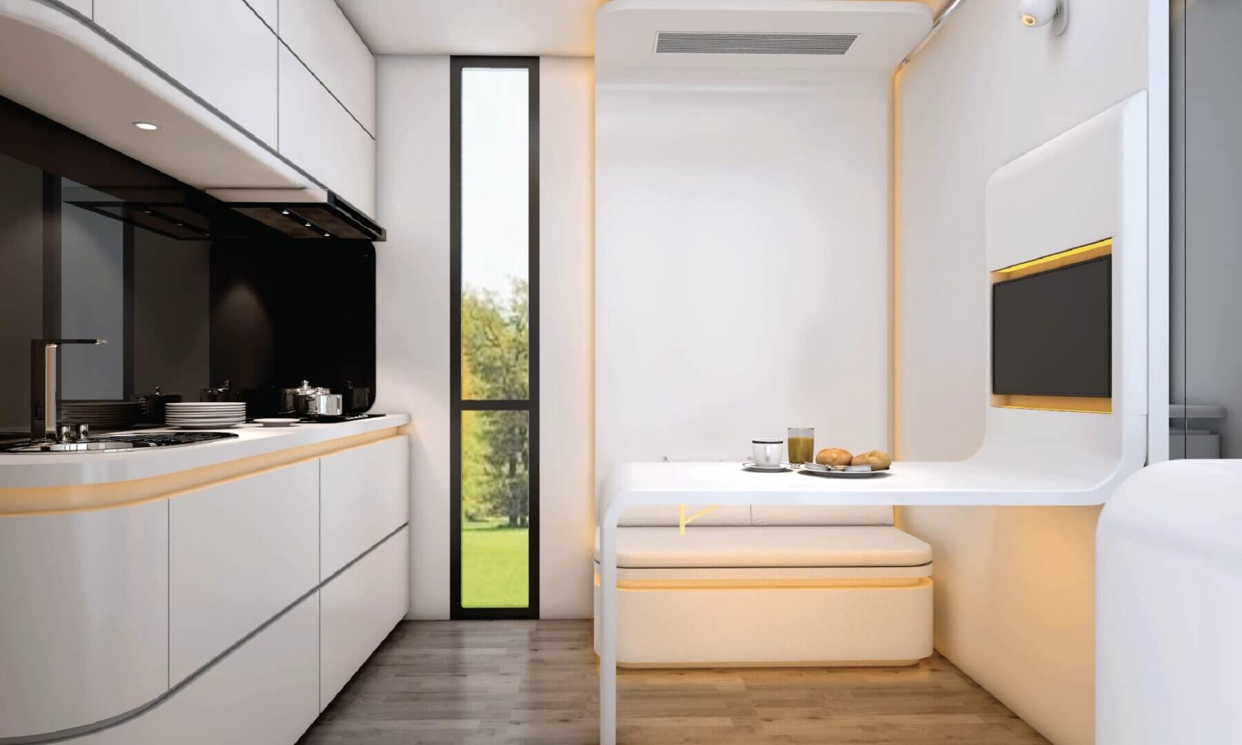 Meet Cube One – a sci-fi take on the tiny home trend