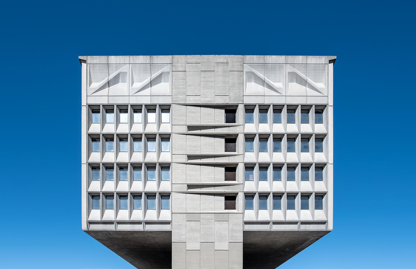 The Pirelli Tire Building facade
