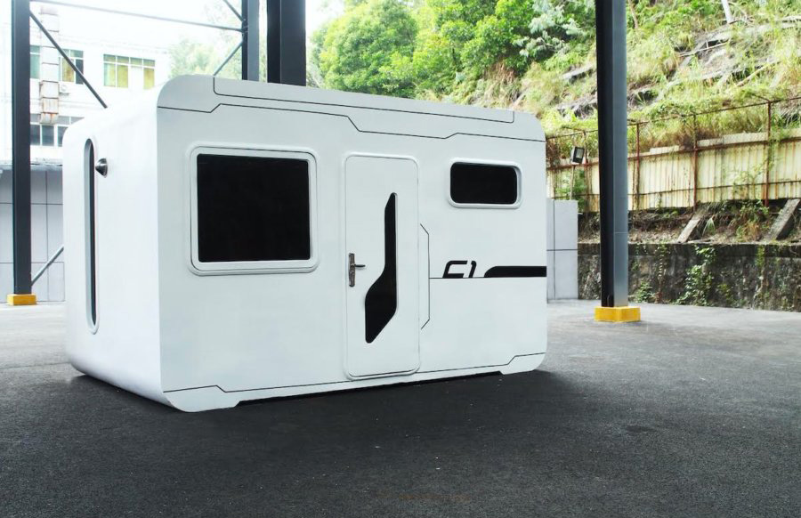 Singapore-based company Nestrom designed the Cube One tiny home for city environments