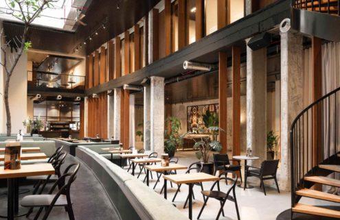 Fosbury & Sons bring Brazilian modernism to Brussels' coworking scene