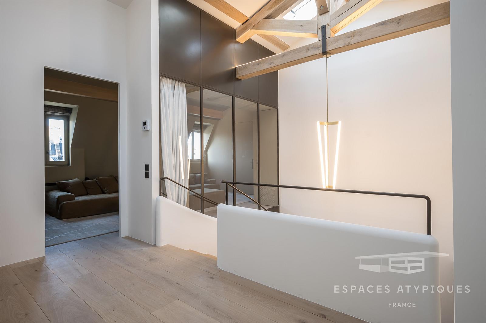 A minimalist duplex by the Champs Élysées lists for €8.5m