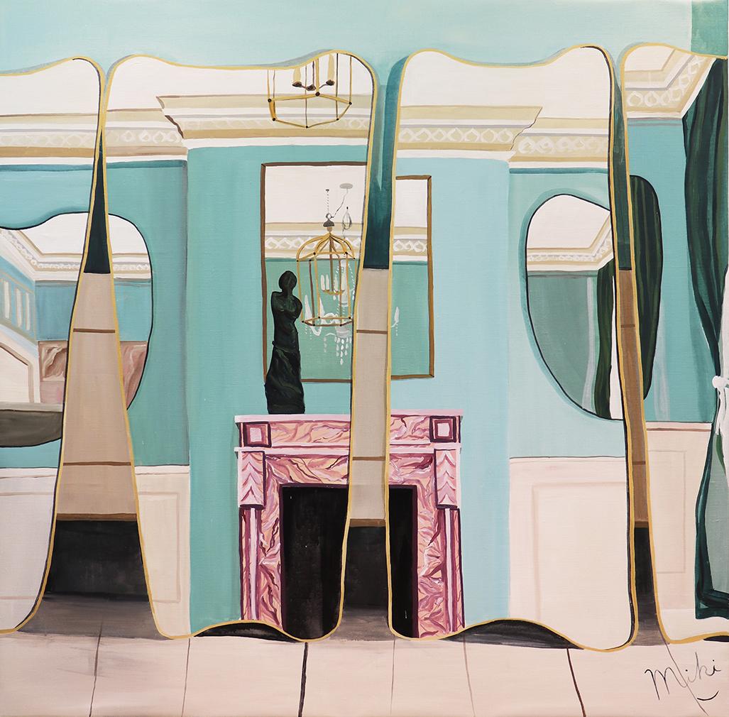 Miki Matsuyama, , 'F.A. 33 Mirror Designed by Gio Ponti,' 2020