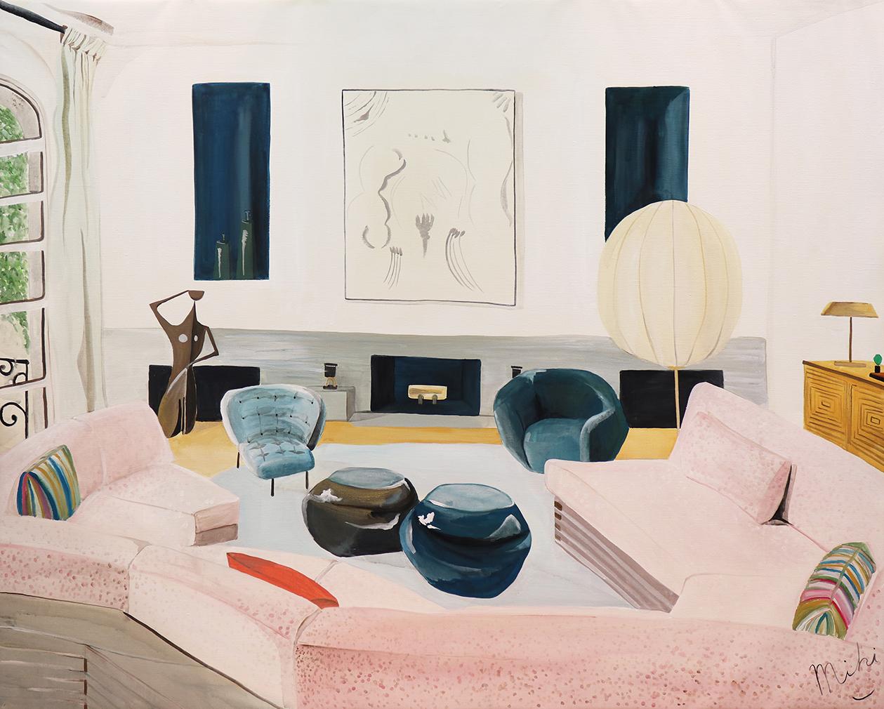 Miki Matsuyama, 'NYC Apartment Designed by Sandra Weingport', 2020
