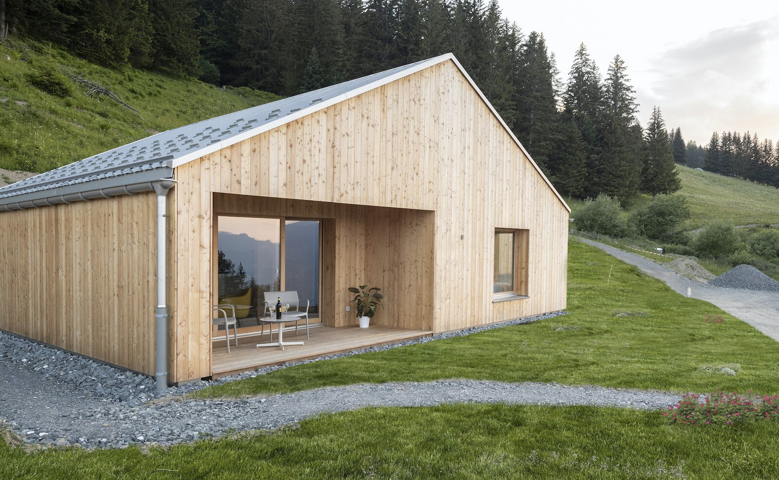 Whitepod is an eco-friendly village in the middle of the Swiss Alps